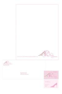 Letterhead, envelope, business card