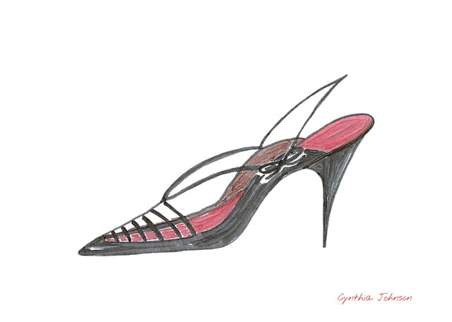 Sling back copy of Andy Warhol