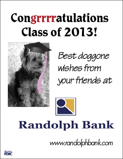 Made for 2012 internship with Randolph Bank